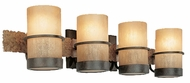Troy B1844BB Bamboo 4 Light Wall / Vanity Fixture