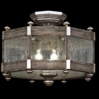 Fine Art Lamps 809240 Villa Vista Antique Semi Flush Ceiling Lighting