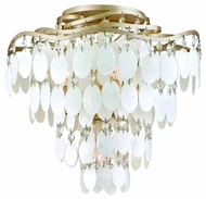 Corbett 109-34 Dolce Four Bulb Semi Flush Ceiling Light