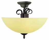 Trans Globe 7215 New Century IV 2-light Semi-Flush Ceiling Light