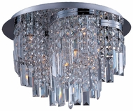 Maxim 39800BCPC Belvedere Small 10-light Contemporary Crystal Ceiling Lighting Fixture