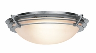 Access Saturn Brushed Steel Halogen Flushmount Light