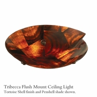 Kalco 4296 Tribecca Glass Flush-Mount Light