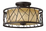 Fredrick Ramond 41622ORB Nest Kitchen Ceiling Semi Flush Lighting
