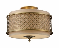ELK 310313 Chester Traditional Semi-flush Mount Ceiling Light