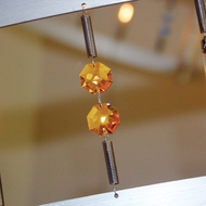 Bruck Flight Track with Amber Crystals - 78 inches