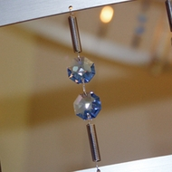Bruck Flight Track with Blue Crystals - 78 inches
