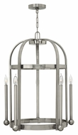 Hinkley 3015BN Landon 30 Inch Tall Brushed Nickel Large 5 Candle Foyer Lighting Fixture