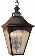 Feiss OL1011-ORB Homestead 4-light 25 inch Exterior Hanging Lamp in Oil Rubbed Bronze