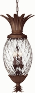 Hinkley 2222CB Plantation 4 Light 28 Inch Tropical Outdoor Foyer Fixture