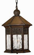 Hinkley 2992SN Westwinds 3 Light Outdoor Rustic Foyer Fixture