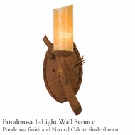 Kalco 3031 Ponderosa 1-Light Wall Sconce