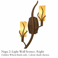 Kalco 4764gw Napa 2-Light Right-Side Wall Sconce