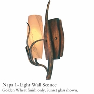 Kalco 4761gw Napa 1-Light Wall Sconce