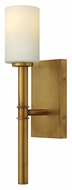 Hinkley 3580VS Margeaux Contemporary 17 Inch Tall Vintage Brass Wall Lighting