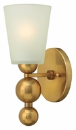 Hinkley 3440VS Zelda Vintage Brass Finish 11 Inch Tall Contemporary Lighting Sconce