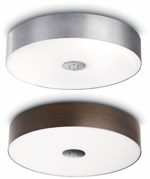 Philips Ecomoods Modern 17.5 Inch Diameter Flush Mount Ceiling Light