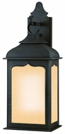 Troy BF2012CI Henry Street Fluorescent Traditional Colonial Iron Outdoor Lighting Sconce