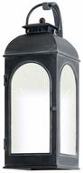 Troy BF3282 Derby Fluorescent Medium Antique Iron Finish Outdoor Wall Light Fixture
