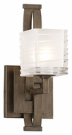 Troy B3581 Jensen Contemporary Danish Bronze 11 Inch Tall Xenon Sconce Lighting