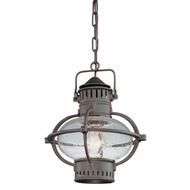 Troy F1877BB Portsmouth Medium Outdoor Nautical Hanging Ceiling Lantern