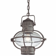 Troy F1878BB Portsmouth Large Outdoor Nautical Hanging Ceiling Lantern