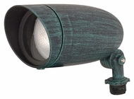 Nuvo 76656 Landscape Floods Medium 6 Inch Long Outdoor Accent Light - Antique Verdi
