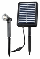 Kenroy Home 60500 Solar Spotlight 7 Inch Tall Landscape Lighting - 0.5W