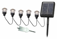 Kenroy Home 60503 Solar LED 5 Light String