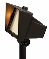 Hinkley 1521BZ 50W Exterior Flood Light with Frosted Lens