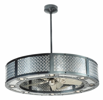 Meyda Tiffany 110039 Chandel-Air Diamond Turbine Contemporary Pendant Light