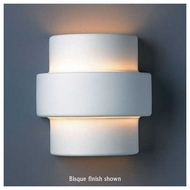 Justice Design 2205 Ambiance Small Step Wall Sconce