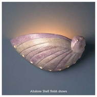 Justice Design 3720 Ambiance Abalone Shell Wall Sconce