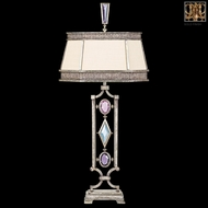 Fine Art Lamps 730310-3 Encased Gems Gold Table Lighting with Clear Crystal