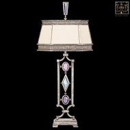 Fine Art Lamps 707210-3 Encased Gems Bronze Crystal Table Lamp with Clear Gems