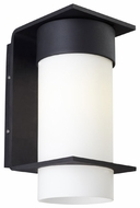 LBL Palm Lane Small Contemporary Cylinder Exterior Wall Sconce