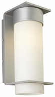 LBL Palm Lane Large Modern Opal Glass Exterior Wall Lamp