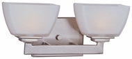 Maxim 9032SWSN Angle Small 2-light Satin Nickel Vanity Lighting
