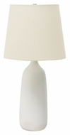 House of Troy GS101-WM Scatchard 31 Inch Tall White Matte Finish Lighting Table Lamp