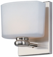 Maxim 9001SWSN Essence 1-lamp Modern Satin Nickel Wall Lighting