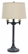 House of Troy L850-OB Lancaster Oil Rubbed Bronze Finish 31 Inch Tall Traditional Table Lamp