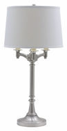 House of Troy L850-SN Lancaster Satin Nickel Finish Traditional Table Lighting - 31 Inches Tall