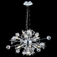 Elegant 3400D24C-EC Cyclone Small 22-lamp Crystal Chandelier Light