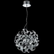 Elegant 2068D19C-RC Tiffany Small 9-lamp Crystal Lighting Chandelier