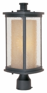Maxim 85650CDWSBZ Bungalow EE Fluorescent 18 Inch Tall Bronze Outdoor Post Lighting