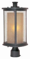 Maxim 3150CDWSBZ Bungalow Bronze Finish 18 Inch Tall Outdoor Post Lighting