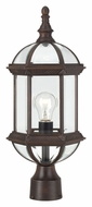 Nuvo 604975 Boxwood Rustic Bronze Finish Traditional 19 Inch Tall Post Lighting