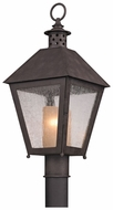 Troy P3295 Sagamore Colonial Lantern 22 Inch Tall Outdoor Post Lamp
