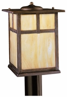 Kichler 9953CV Alameda 12 Inch Tall Canyon View Craftsman Outdoor Post Light