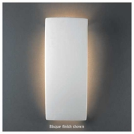 Justice Design 5135 Ambiance ADA Rectangle Wall Sconce